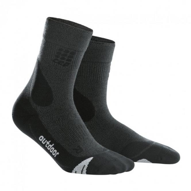 CEP Outdoor Merino Mid-Cut Socks Woman