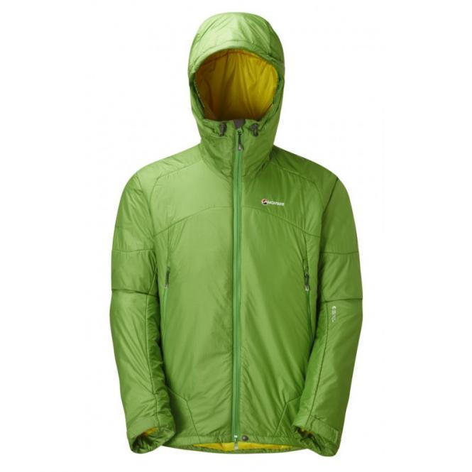 MONTANE Alpha 100 Jacket Aurora - Green